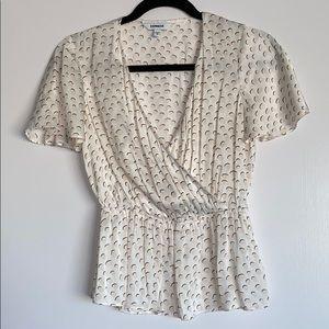 EXPRESS Polkadot blouse